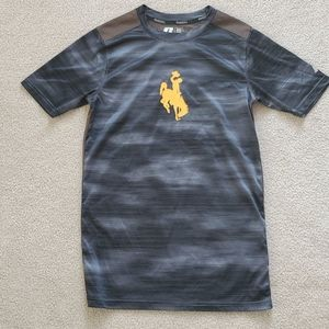 University of Wyoming Mens Athletic Shirt